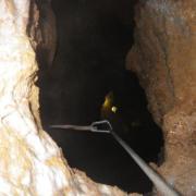 Bataille -160m entrée puits de 50m