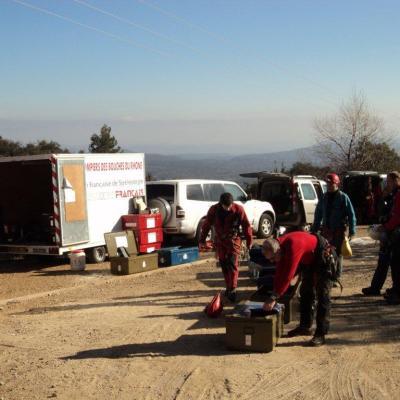 exercice secours 18 février 2012
