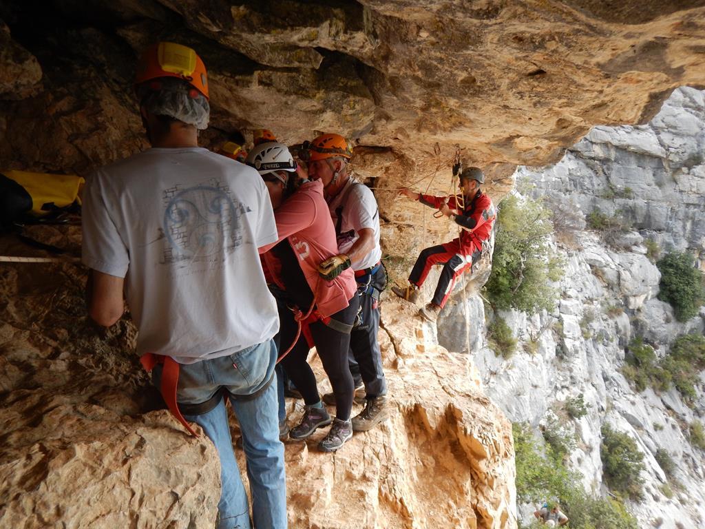 Visite de la grotte aux Champignons