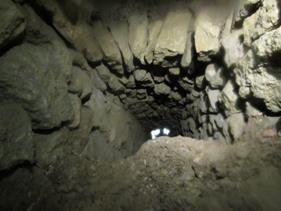 Explorations galeries de drainage Lourmarin